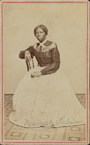 carte-de-visite portrait of Harriet Tubman